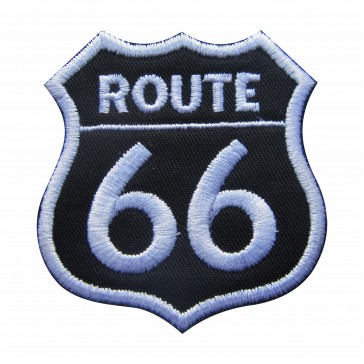 Embroidered patch Route 66