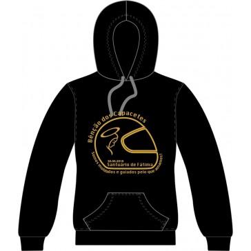 Sweatshirt com capuz, Sol's Snake, Unisexo Preto Tamanho M