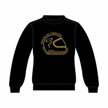 Sweatshirt SOL's Supreme Unisexo Preto Tamanho XXL