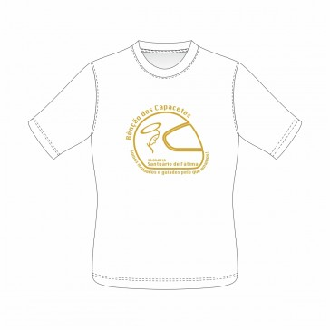 T-Shirt  Sol's Regent Unisexo de manga curta, Branco Tamanho S