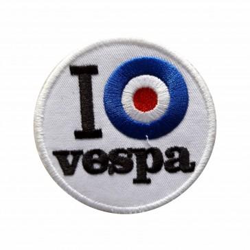 Embroidered patch biker I (target) Vespa