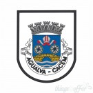 Embroidered patch city of Agualva-Cacem