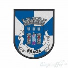 Embroidered patch city of Braga
