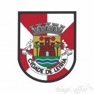 Embroidered patch city of Leiria
