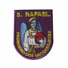 Embroidered patch São Rafael