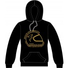 Sweatshirt com capuz, Sol's Snake, Unisexo Preto Tamanho XS