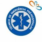 Embroidered patch Star of Life Round – Técnico de Emergencia Pré-Hospitalar