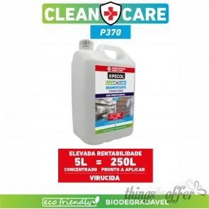 Desinfetante Multisuperfícies Concentrado P370 CLEAN+CARE 5L