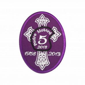 Emblem, Patch allusive to the five years of the death of Priest José Fernando