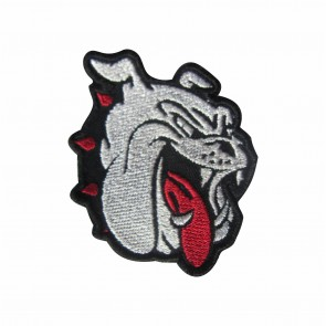 Embroidered patch Bad Dog