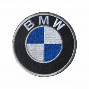 Embroidered patch biker band BMW