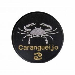 Zodiac Câncer Embroidered Patch