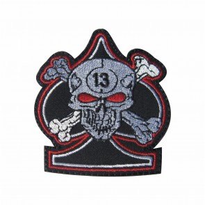 Embroidered patch skull 13
