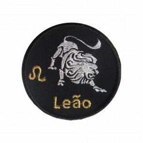 Zodiac Leo Embroidered Patch