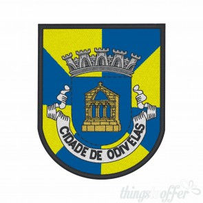 Embroidered patch city of Odivelas