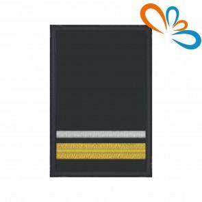Divisa de Oficial Bombeiro 2ª, com Velcro