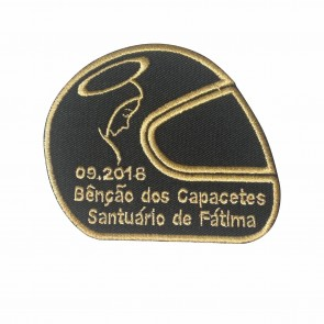 Embroidery Patch of 2018 Blessing of Helmets