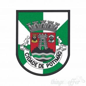 Embroidered patch city of Portimão