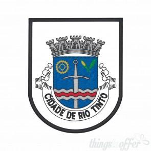 Embroidered patch city of Rio Tinto
