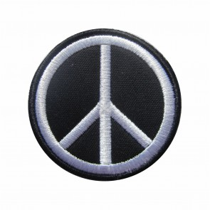Embroidered patch Peace symbol