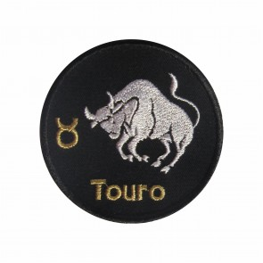 Zodiac Taurus Embroidered Patch