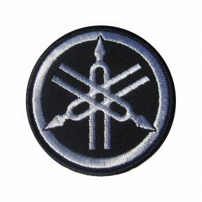 Embroidered patch biker band Yamaha