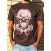 T-shirt Unisex B&P  Skulls and Pistons short sleeve