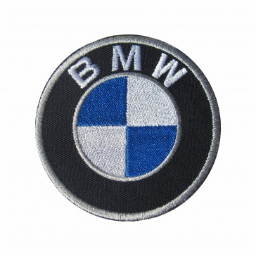 Parche Bordado Motero marca BMW