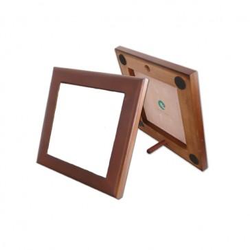 Marco de madera de color  caoba - para el azulejo de 10,8 x10, 8 cm