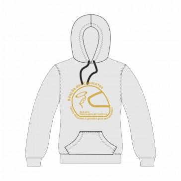Sweatshirt com capuz, Sol's Snake, Unisexo Cinzento Claro Tamanho L