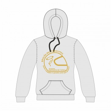 Sweatshirt com capuz, Sol's Snake, Unisexo Cinzento Claro Tamanho XS
