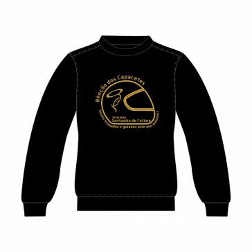 Sweatshirt SOL's Supreme Unisexo Preto Tamanho M