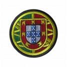 Parche escudo de armas de Portugués