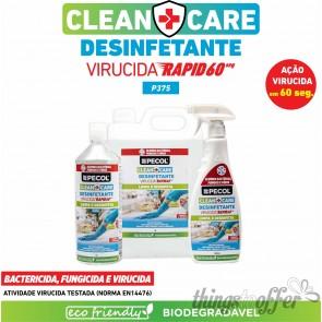Desinfetante Multisuperfícies Rapid P375 CLEAN+CARE 5L