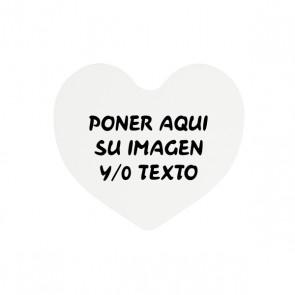 Imán corazón de 6,4 x6, 5 cm