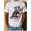 Camiseta B&P Ride Free de manga corta unisexo